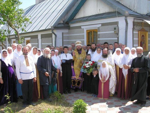 Престольный праздник в старинном селе Белоусовке