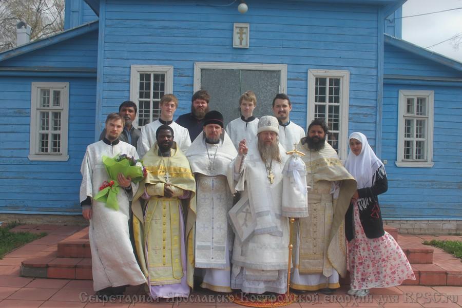 Зарубежные гости в Ярославско-Костромской епархии