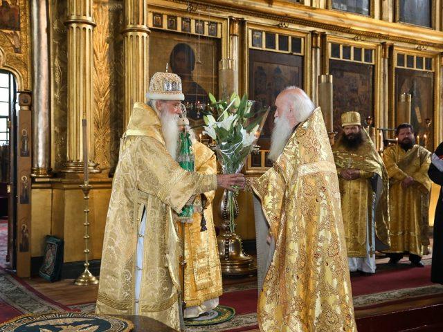 Митрополит Корнилий отметил День ангела