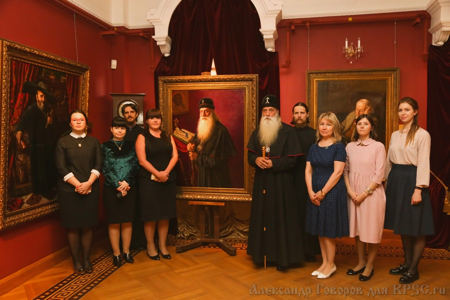 Выставка художника Александра Шилова