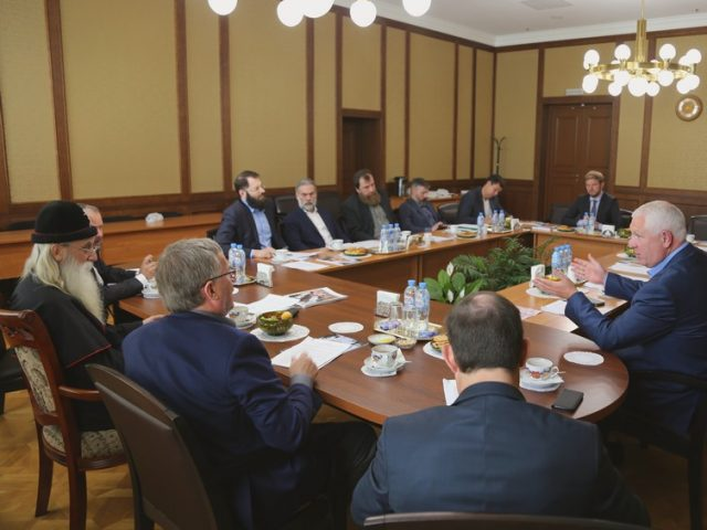 Подготовку Всемирного старообрядческого форума обсудили на Рогожском