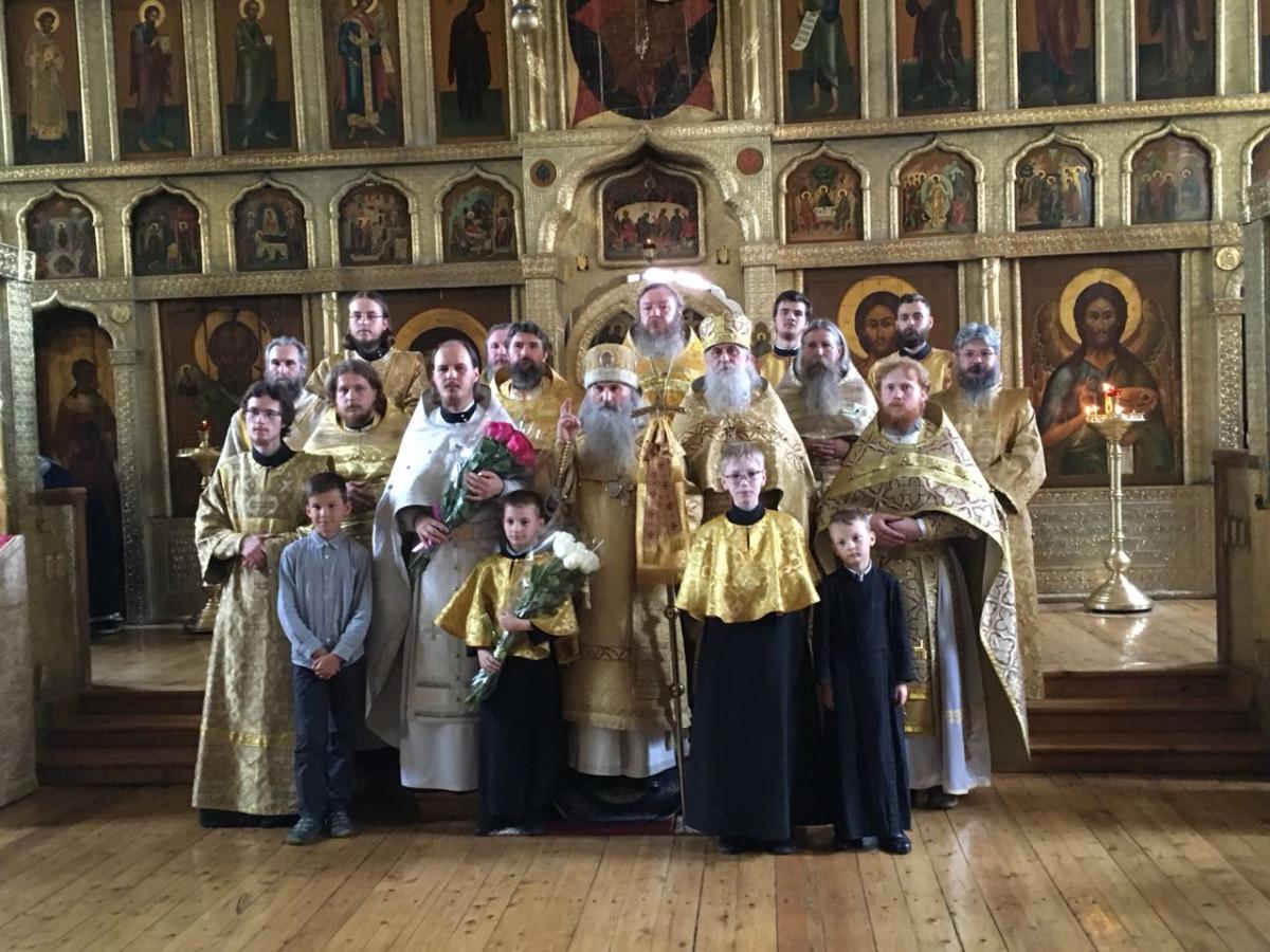 Рукоположен священник в кафедральный собор Казани