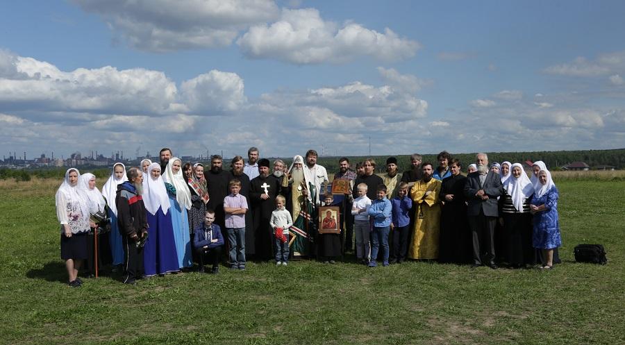 С благословения предстоятеля Церкви в Нижнем Тагиле начинается строительство храма