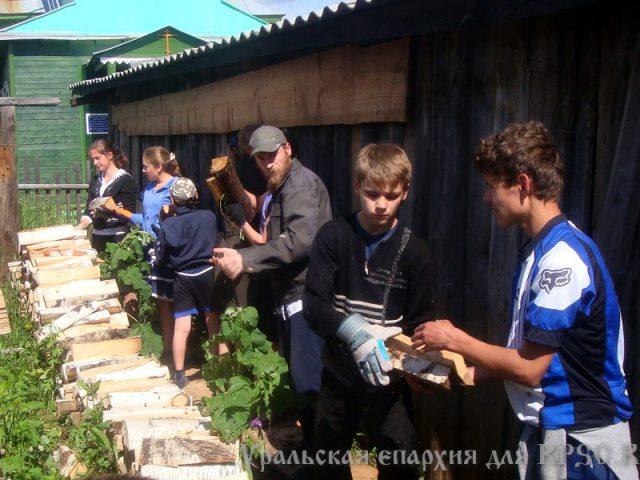 Детско-юношеский слет «Ковчег» прошел в Бородулине