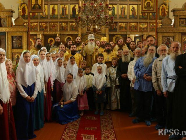 Праздник Преображения встретили с митрополитом христиане в Екатеринбурге