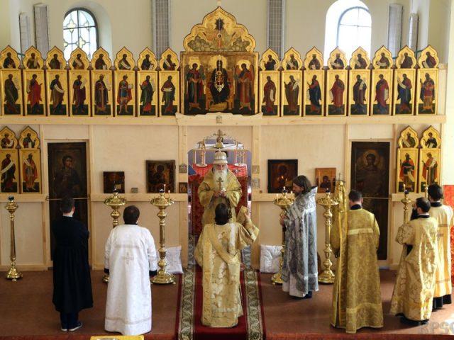 Первый престольный праздник в Покрово-Успенской общине, 2018 год