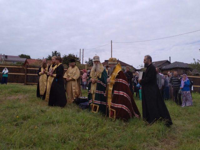 В Кирове положено начало строительству нового храма