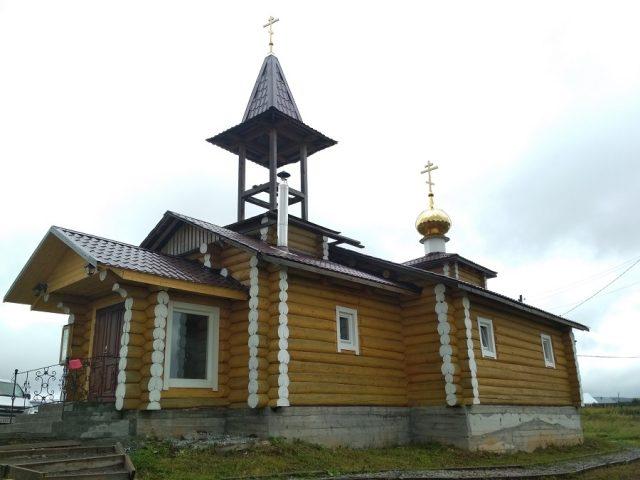 Храм во имя равноапостольного князя Владимира освящен на Урале