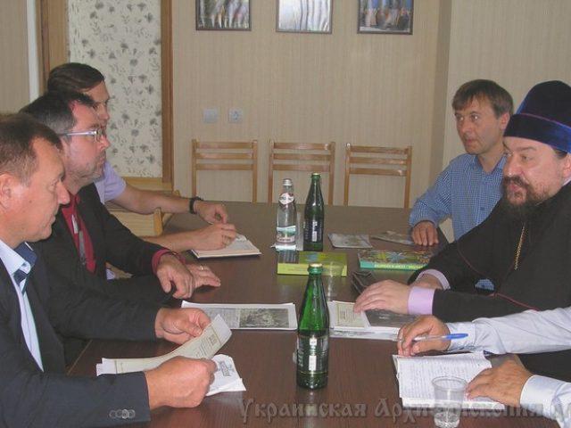В Украинской архиепископии прошла встреча с представителями государственной власти Украины