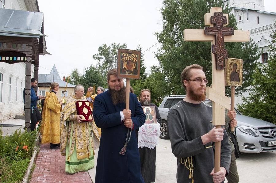 ВНиколо-Улейминскомженском монастыре освящен придел во имя пророка Илии