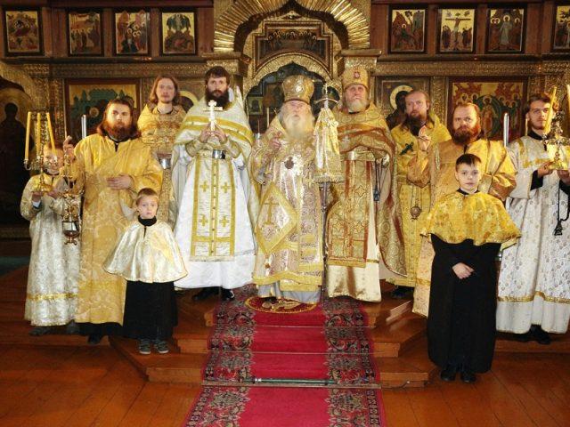 Иерейская хиротония ко храму в Омске