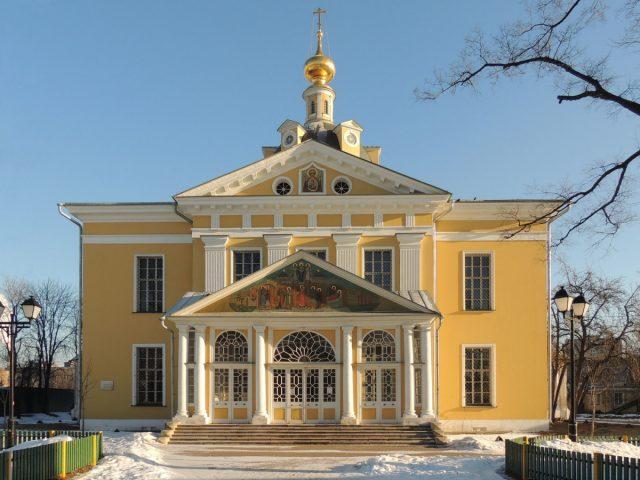 Хор Покровского кафедрального собора на Рогожском