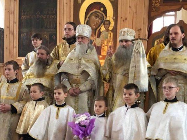 Начало богослужений в казанском кафедральном соборе