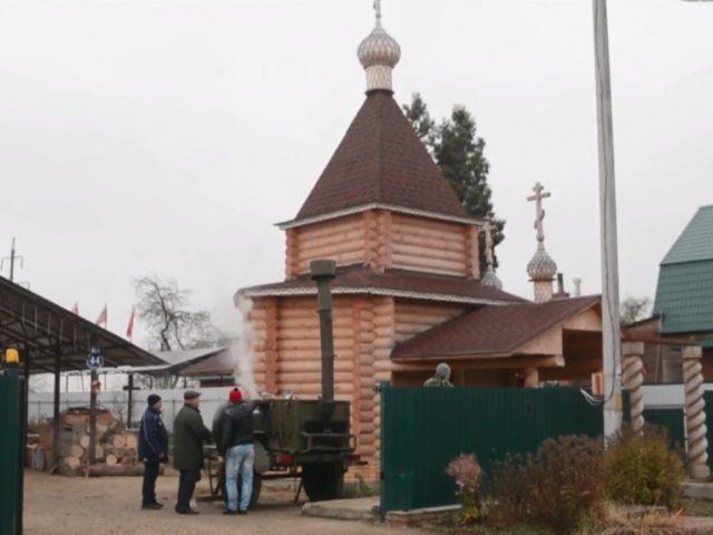 Престольный праздник в Сабурове