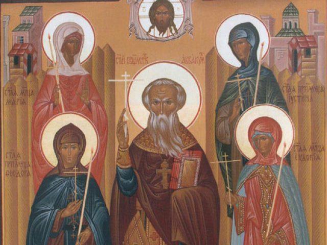 Преподобномученица и исповедница Феодора