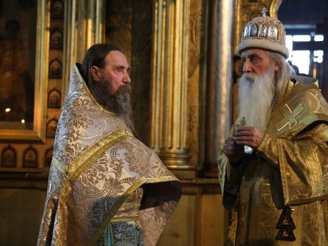 Награждение иерея Виталия Норкина наперсным крестом