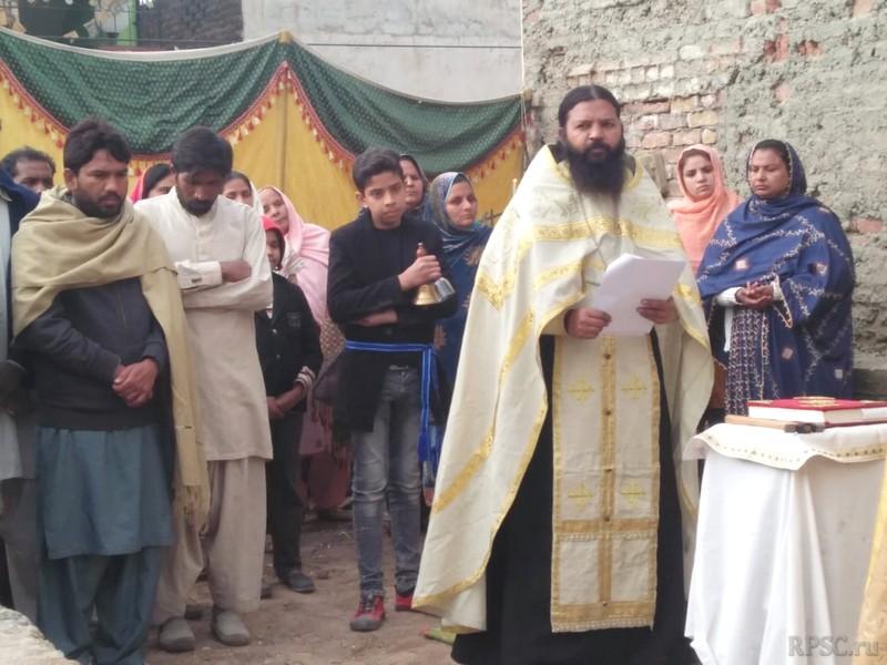 В Пакистане совершено освящение закладки храма