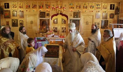 В селении Беливо Московской епархии освящен храм