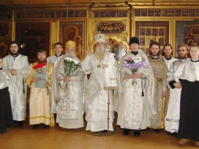Богоявленские богослужения на Рогожском