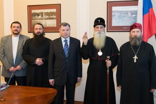 Встреча с губернатором Калужской области
