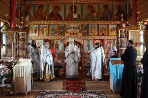 Освящение храма в селе Ёлкино