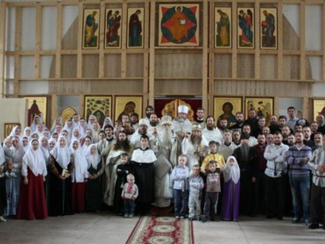 Освящение храма Лиговской старообрядческой общины в Санкт-Петербурге