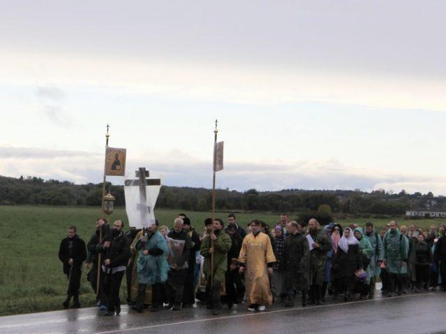 Крестный ход из Вереи в Боровск