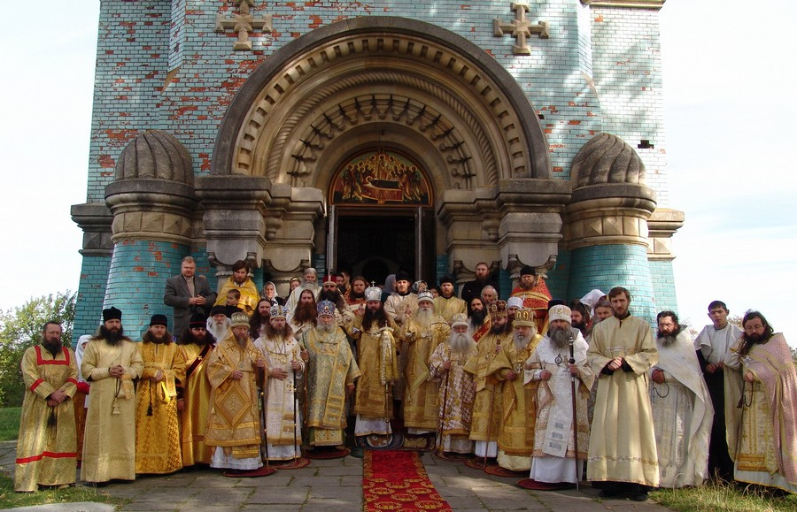 Празднование 150-летия преставления свт. Амвросия Белокриницкаго