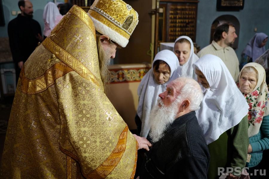 Празднование памяти преподобного Геннадия в Костроме