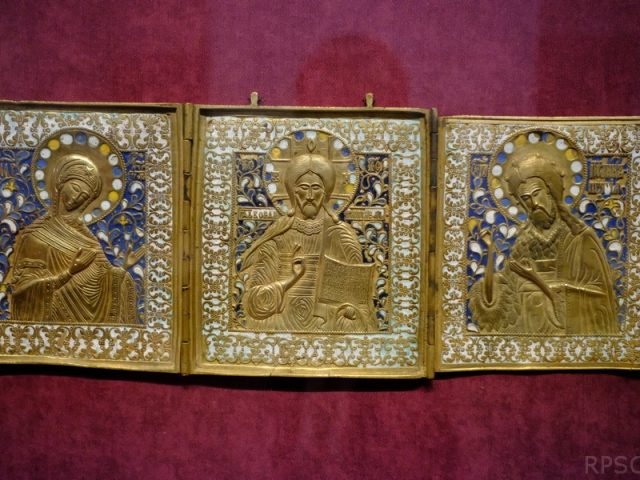Выставка старообрядческого медного литья