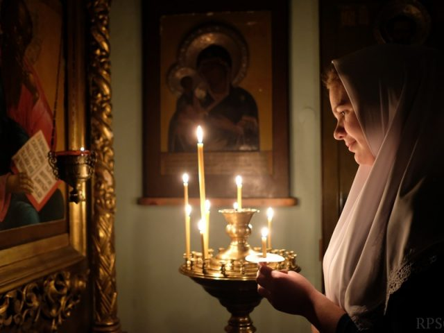 Празднование образа Пресвятыя Борогодицы Феодоровския в Костроме