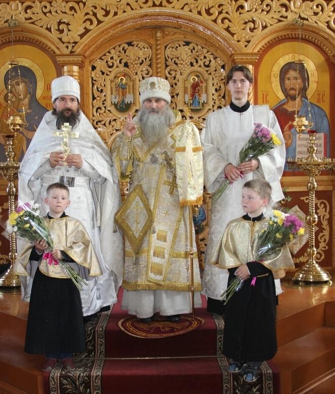 Хиротонии в епархиальном центре Урала