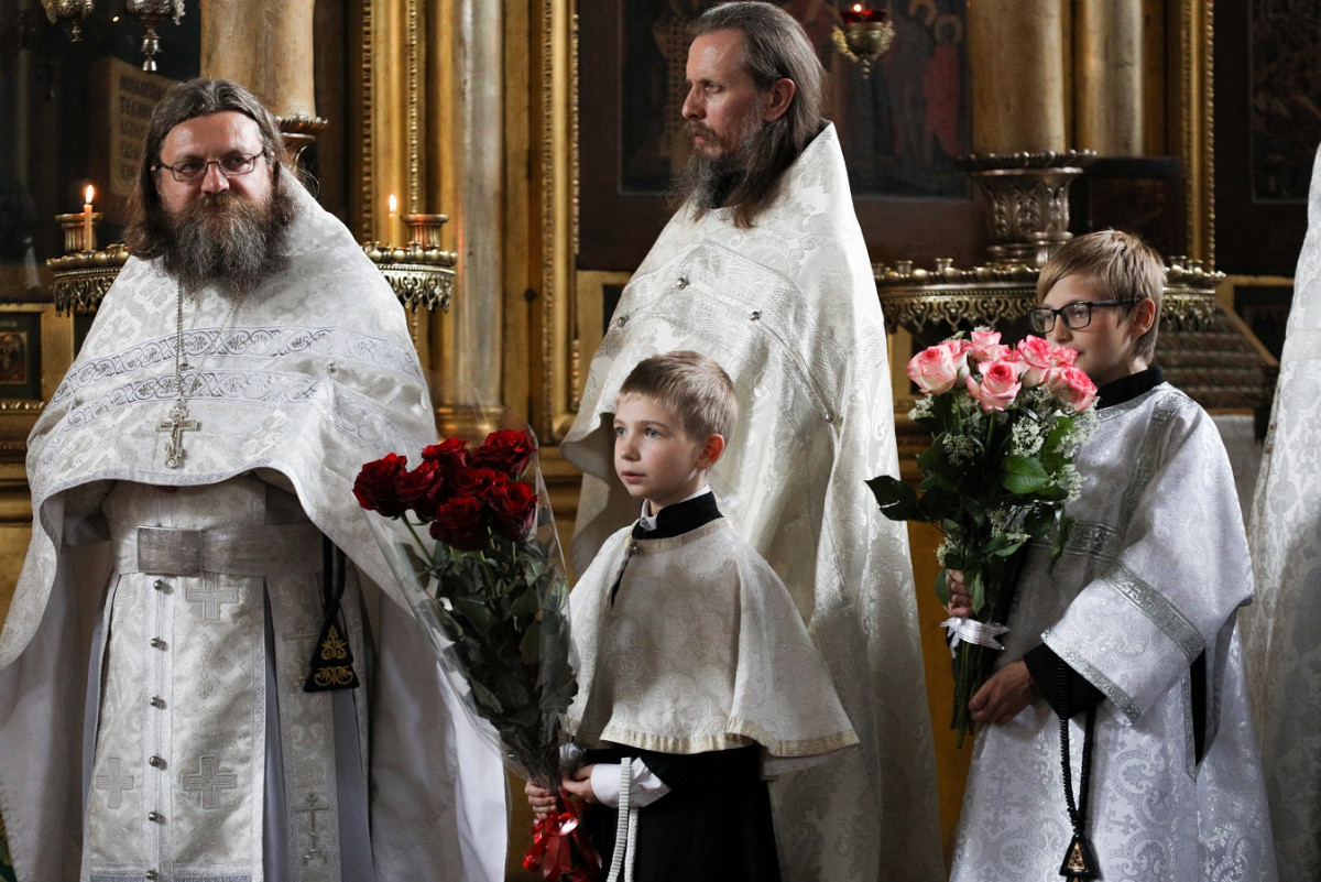 Предстоятель Церкви отметил День ангела