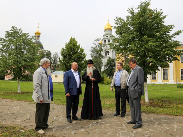 Рабочие встречи на Рогожском