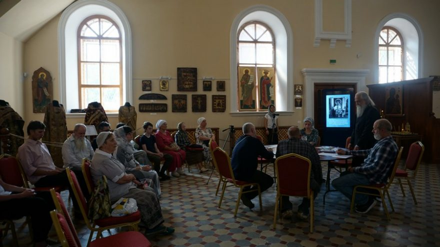 """The Results of the Forum """"Living Heritage of the Ancient-Orthodox Culture"""" Are Summed up in Kazan."""