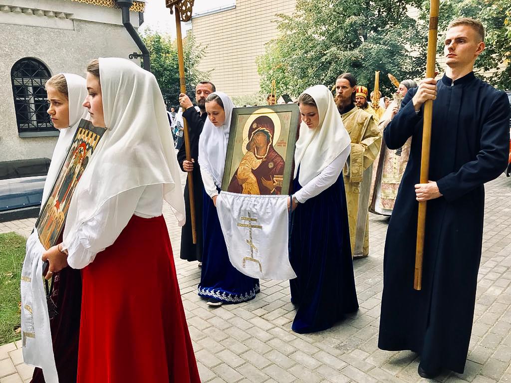 Престольный праздник в Остоженской общине
