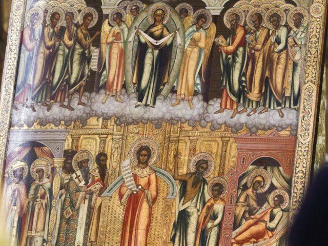 Престольный праздник на Рогожском