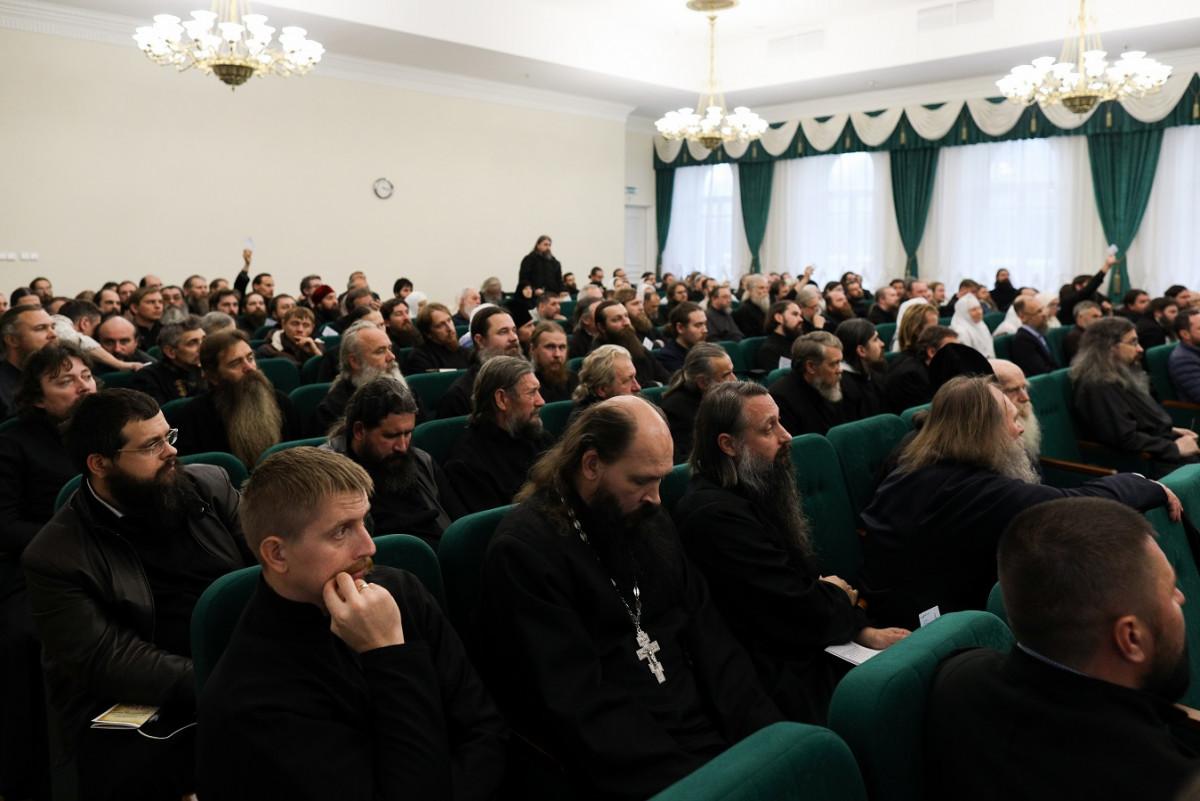 На Рогожском завершился Освященный Собор