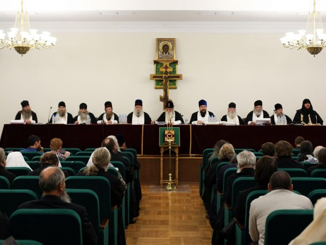 Освященный Собор РПСЦ в лицах