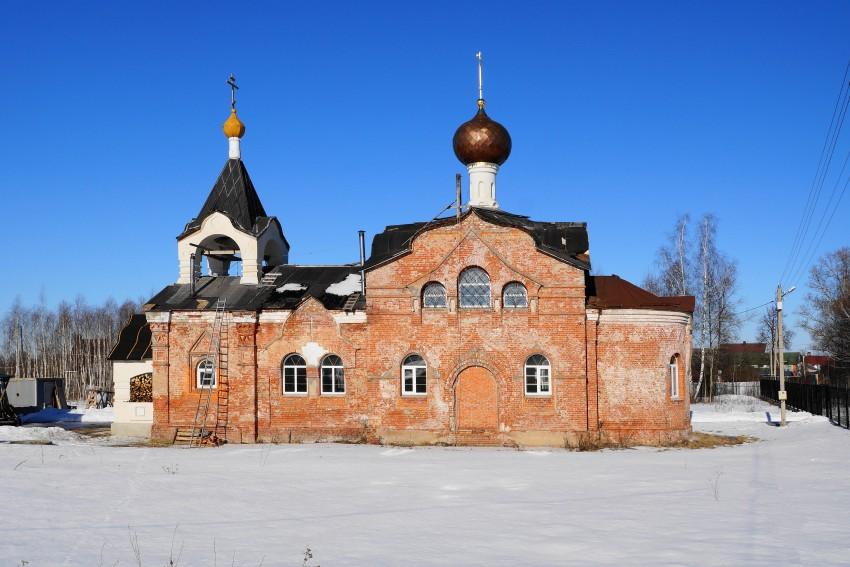 Престольный праздник в поселке Кузнецы Московской епархии