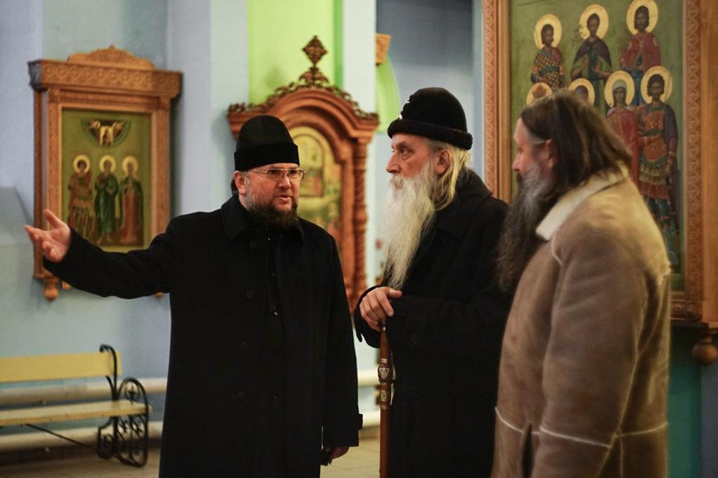 Встречи митрополита Корнилия в Туле