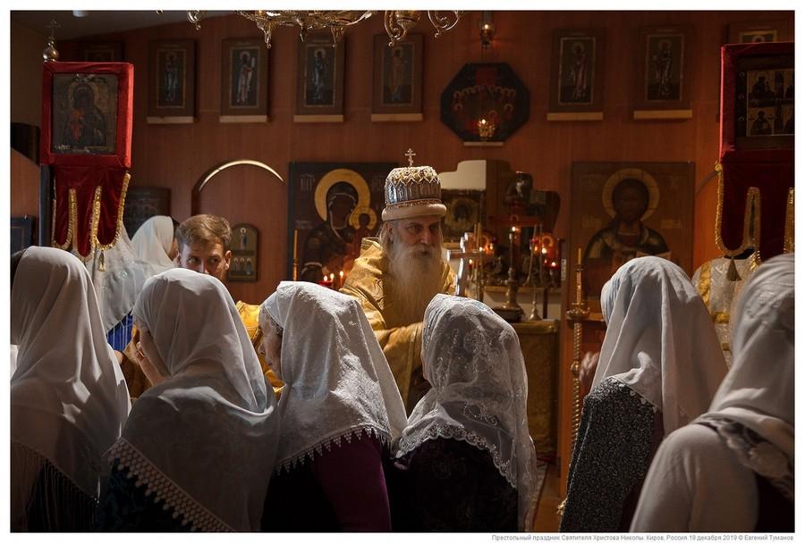Память свт. Николы. Престольный праздник на Вятке