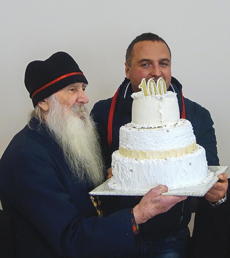 Столетний юбилей священнослужителя Украинской архиепископии