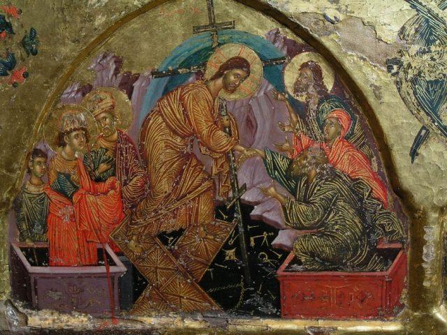 Византийские традиции в древнерусском изобразительном искусстве