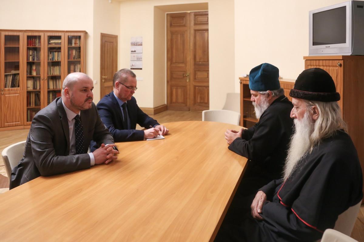 Встречи с властями в Северной столице