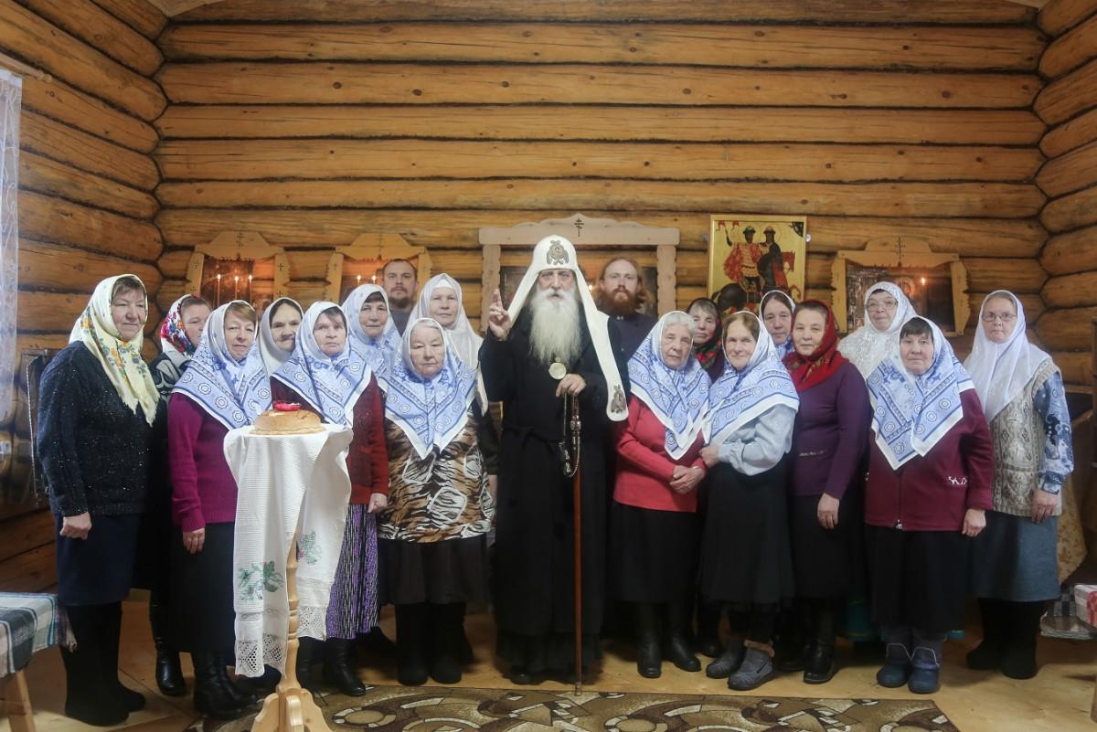 Митрополит Корнилий посетил приходы юга Кировской области