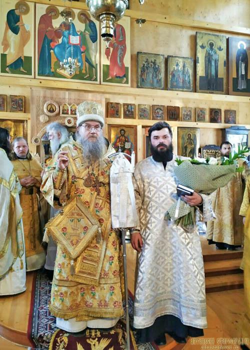 Диаконская хиротония в Томской епархии