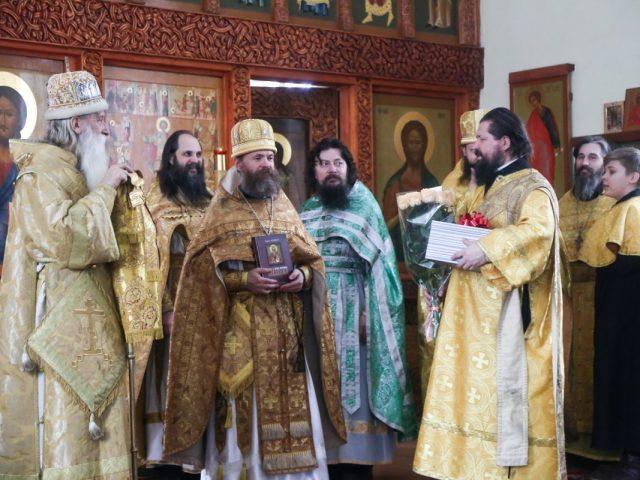 Архиерейская литургия в Егорьевске