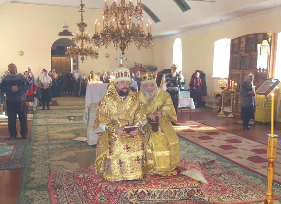 В Кишиневской епархии  освящен храм во имя Покрова Богородицы
