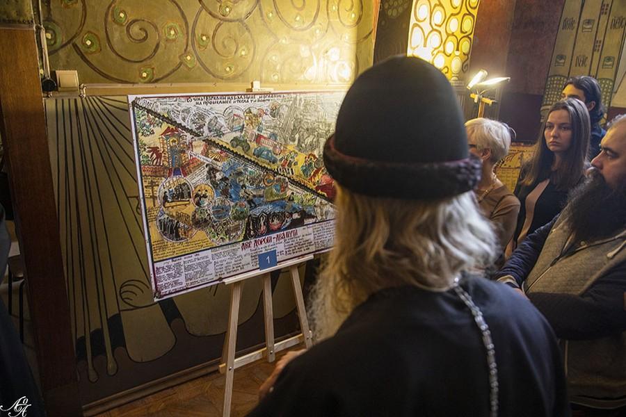 Выставка современного старообрядческого лубка открыта в Москве